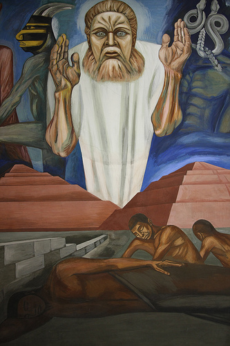 Orozco Mural At Dartmouth